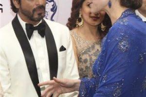 Ahí se encontraron con distintos actores del famoso Bollywood Foto:AP. Imagen Por: