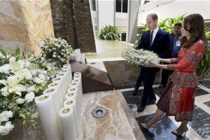 Así disfrutan los Duques de Cambridge su visita a India Foto:AP. Imagen Por: