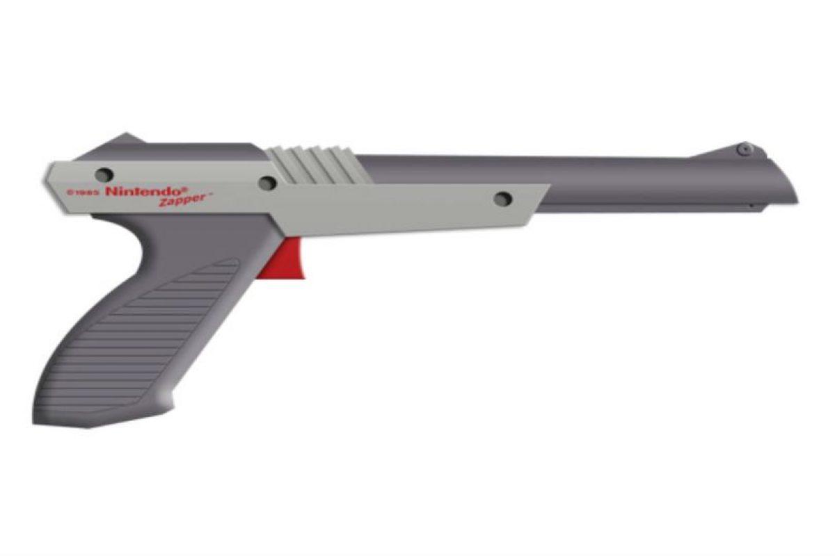 La pistola funcionaba por medio de luz. Foto:Nintendo. Imagen Por: