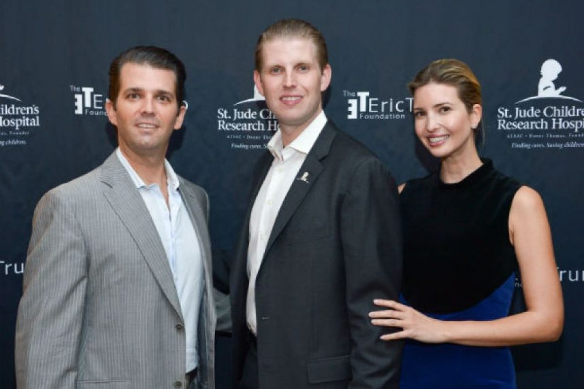 Del que también nació Donald Trump, Jr. (izquierda) Foto:Getty Images. Imagen Por: