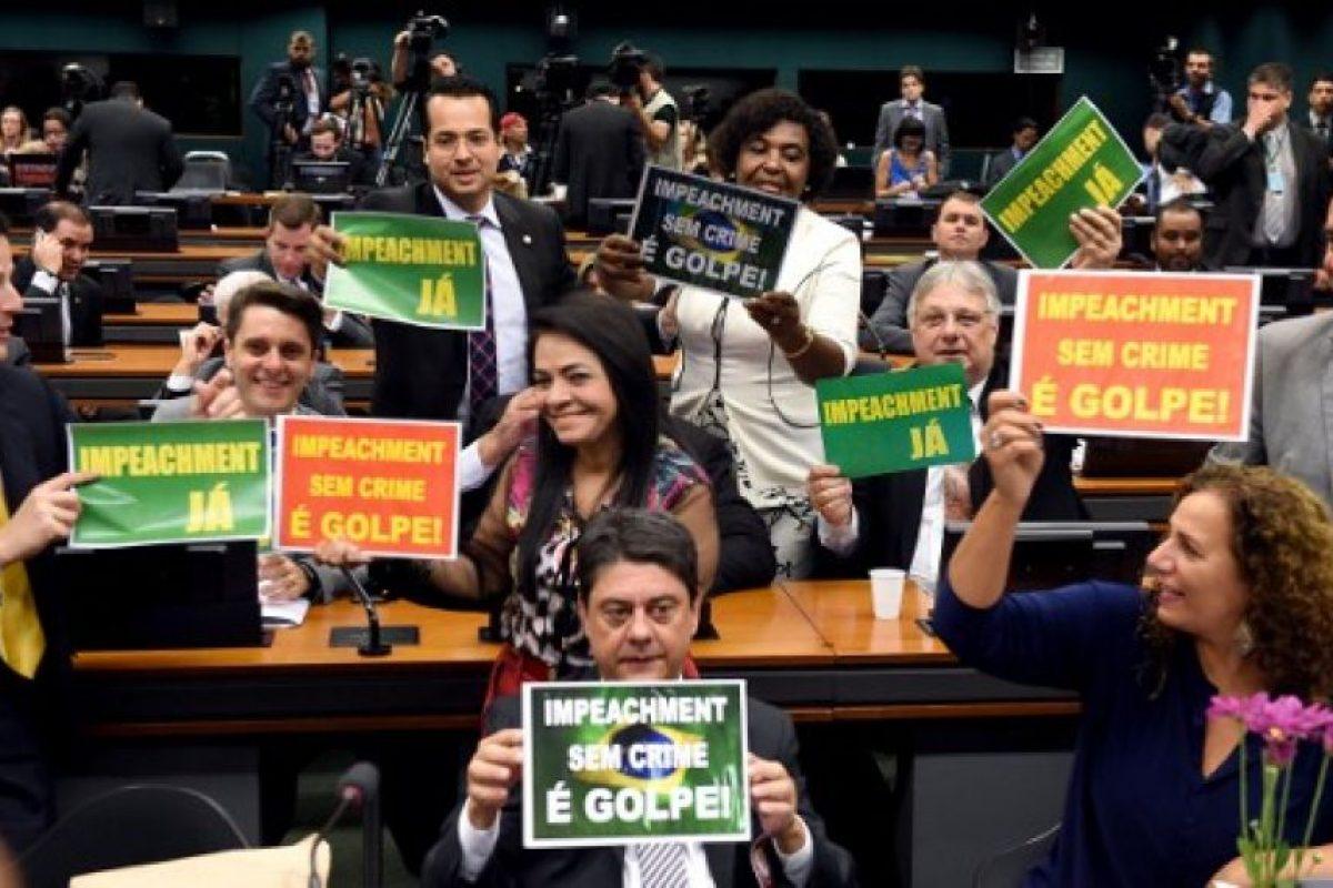 En caso de ser destituida de su cargo podría ser remplazada por el vicepresidente Michel Temer Foto:AFP. Imagen Por: