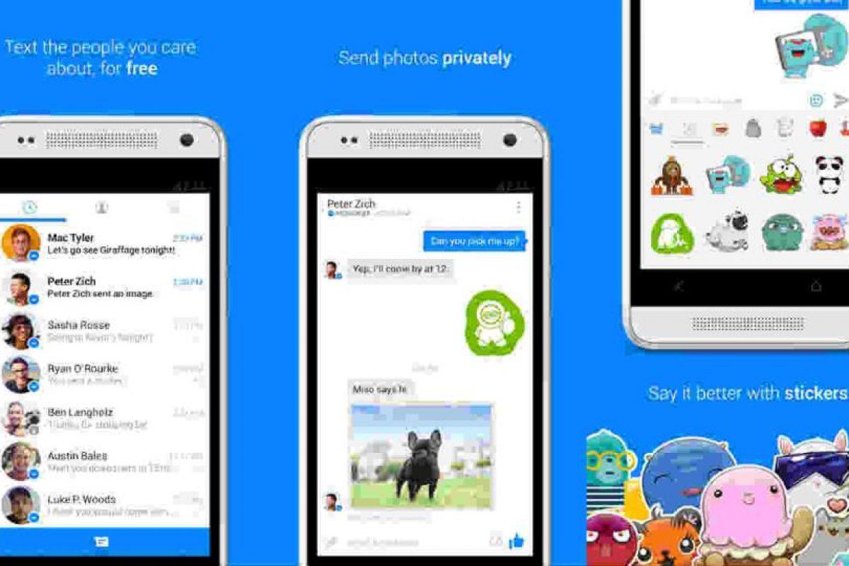 """Recientemente Messenger lanzó los """"códigos"""" para agregar personas. Foto:Messenger/Play Store. Imagen Por:"""