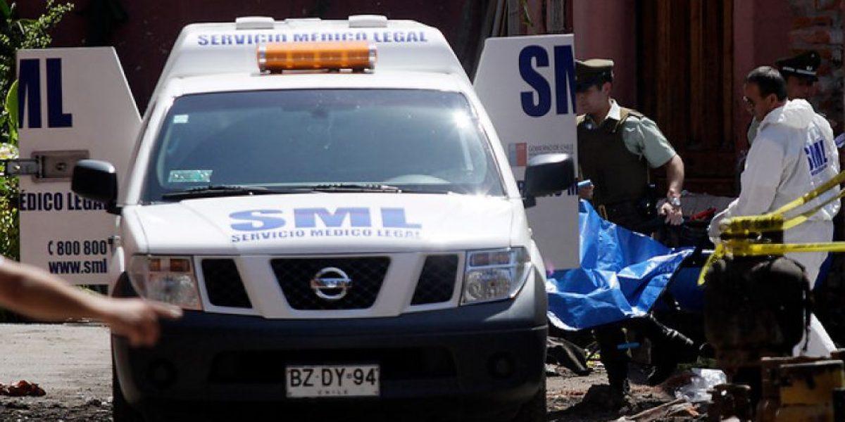 Hombre decapitó a su padre en Rancagua y confesó a la policía que fue un