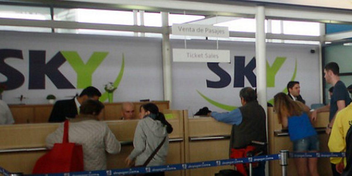 SKY lanza nueva tanda de pasajes a precios