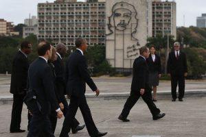 Fue el primer presidente estadounidense en pisar suelo cubano en 88 años Foto:Getty Images. Imagen Por: