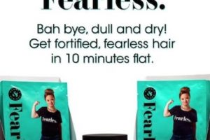 Katie modela una línea de productos para cabello. Foto:Vía Instagram/@beautyandpinups. Imagen Por: