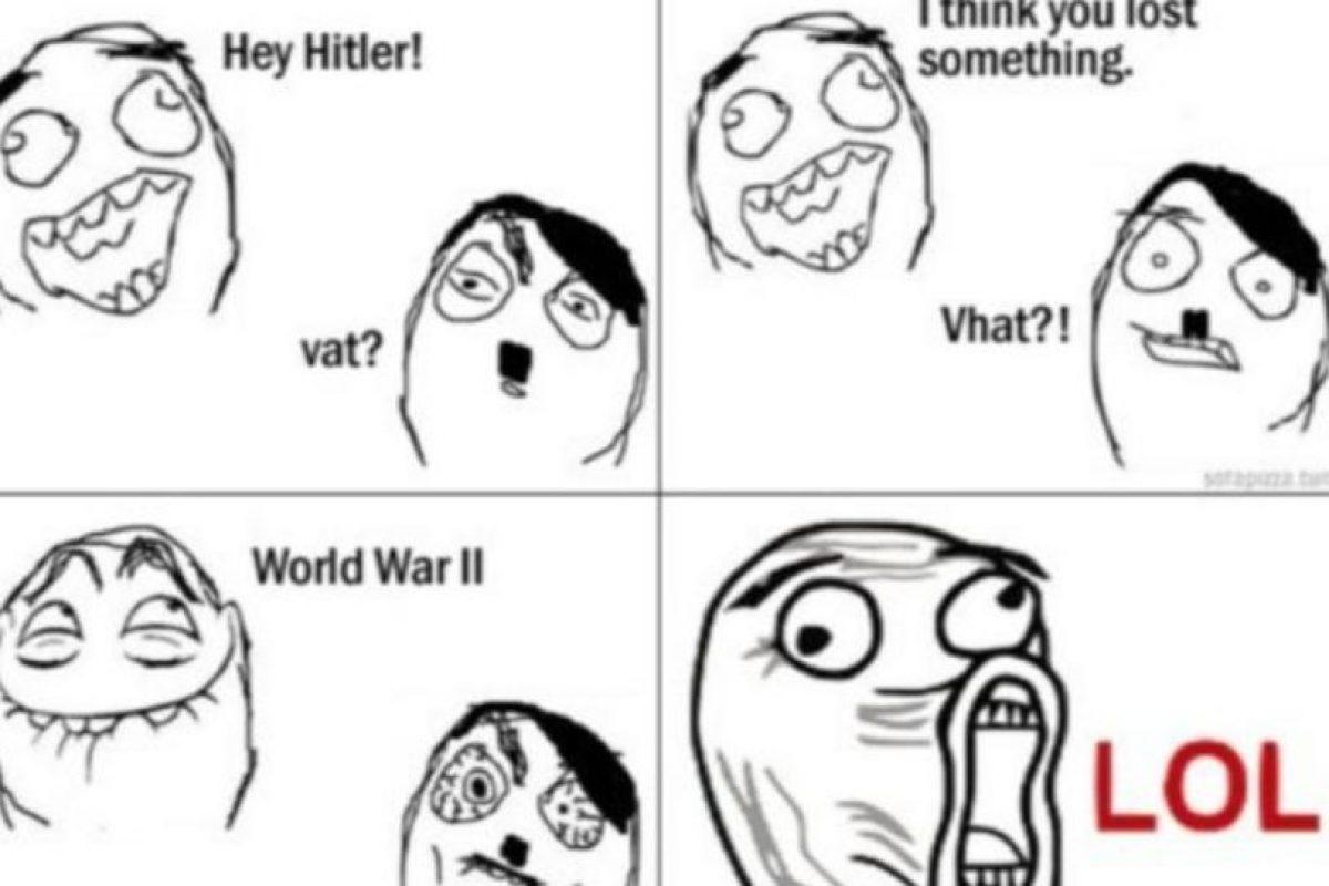 O sobre la derrota de la Segunda Guerra Mundial. Foto:vía QuickMeme. Imagen Por: