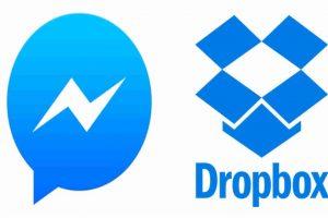 Messenger y Dropbox se unen. Foto:Messenger/Dropbox. Imagen Por: