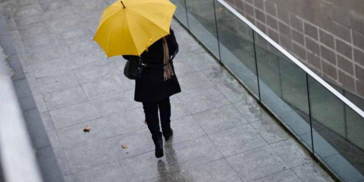 Llegan las primeras lluvias del sistema frontal a la zona céntrica del país