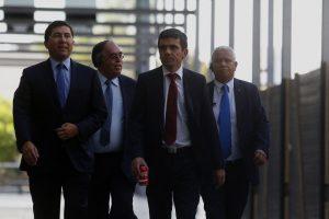 Fiscales Pablo Norambuena y Carlos Gajardo Foto:Agencia Uno. Imagen Por: