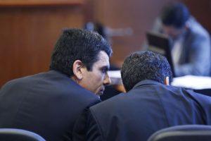 Fiscales Carlos Gajardo y Pablo Norambuena Foto:Agencia Uno. Imagen Por: