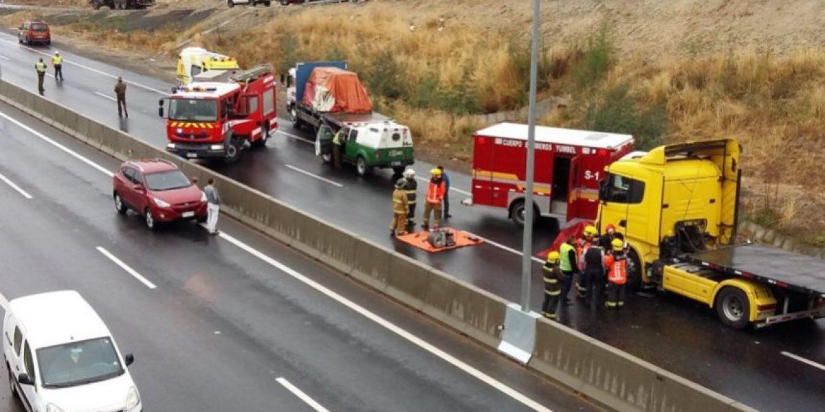 Accidente vehicular deja cuatro muertos en Región de Biobío