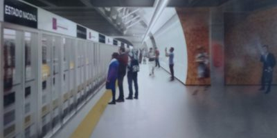 Metro presenta las modernas puertas de andén que tendrán las nuevas líneas 3 y 6