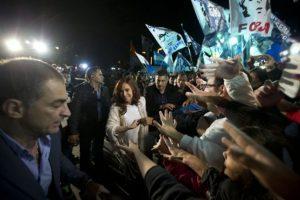 Cristina Fernández de Kirchner en Buenos Aires Foto:AP. Imagen Por: