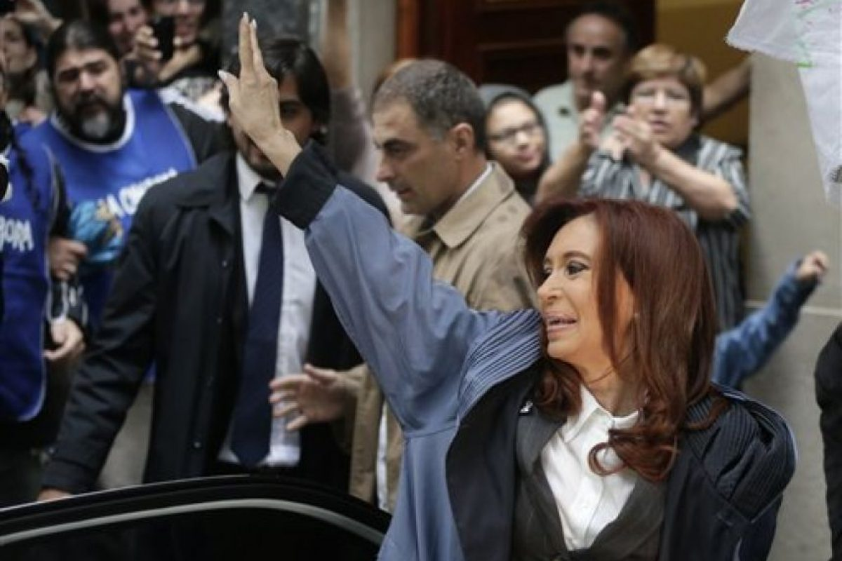 Además de criticar el actual gobierno de Argentina. Foto:AP. Imagen Por: