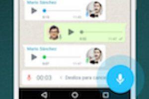 Una de sus funciones más fuertes es el envío de audio. Foto:WhatsApp. Imagen Por: