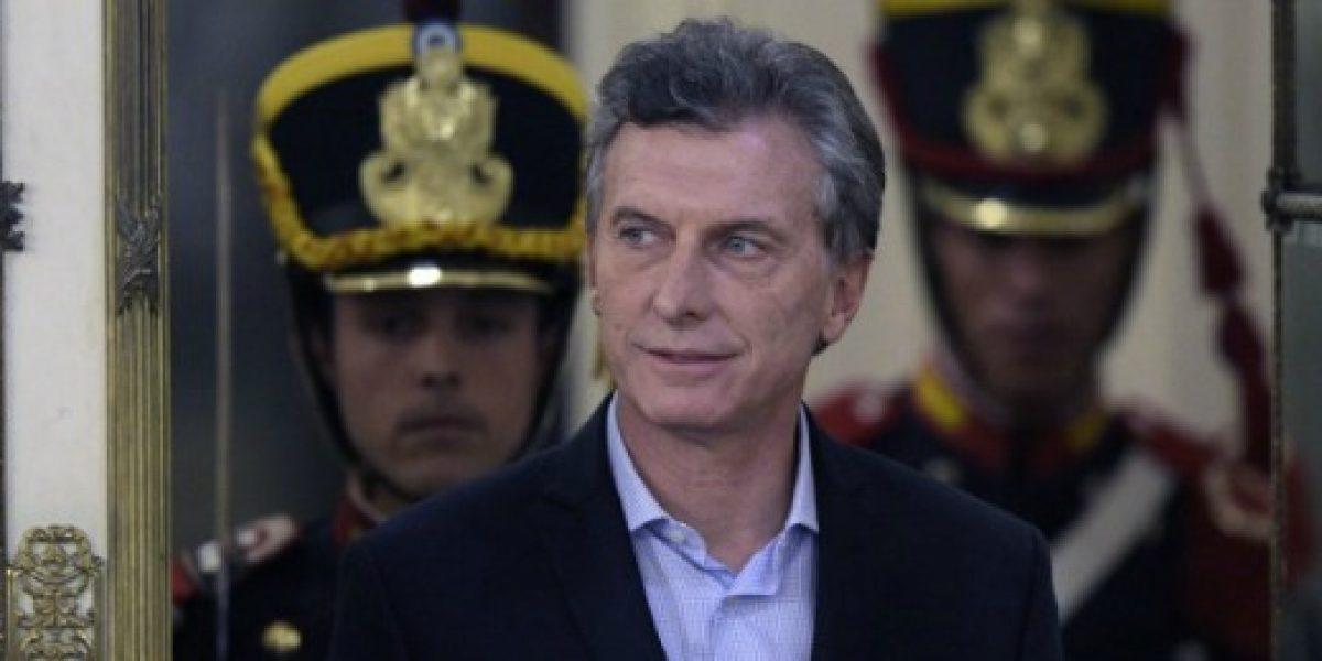 Macri garantiza a empresarios chilenos condiciones para invertir en Argentina