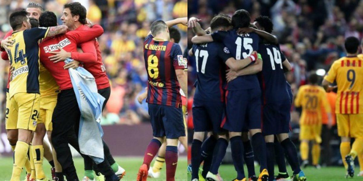 Atlético de Madrid volvió a ser la bestia negra de Barcelona en los cuartos de la Champions