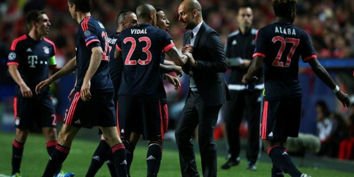 Guardiola resaltó la importancia de Vidal:
