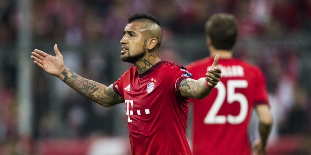 En el Bayern Munich aplauden el rendimiento de Vidal: