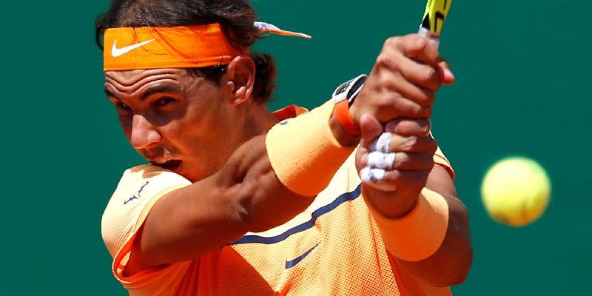 Nadal debuta ganando en la arcilla de Montecarlo y ahora enfrenta duro escollo