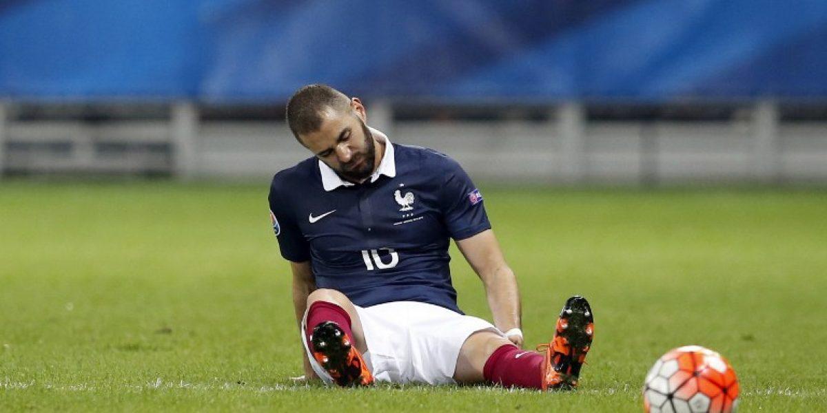 Karim Benzema confirmó en Twitter que no será citado a la Eurocopa