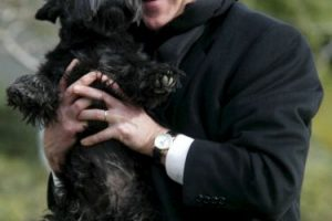 El expresidente George W. Bush también era acompañado por sus mascotas Foto:Getty Images. Imagen Por: