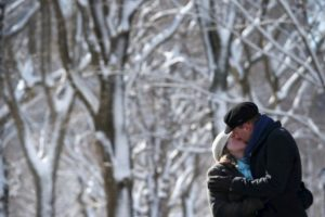 Besos inolvidables Foto:Getty Images. Imagen Por: