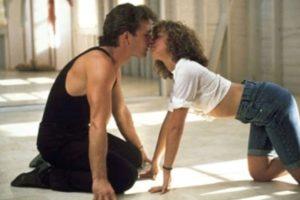 """Dirty Dancing"": Johnny Castle (Patrick Swayze) y Frances 'Baby' Houseman (Jennifer Grey). Foto:Tumblr. Imagen Por:"