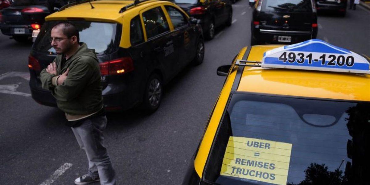 Justicia ordena a gobierno de Buenos Aires suspender la actividad de Uber