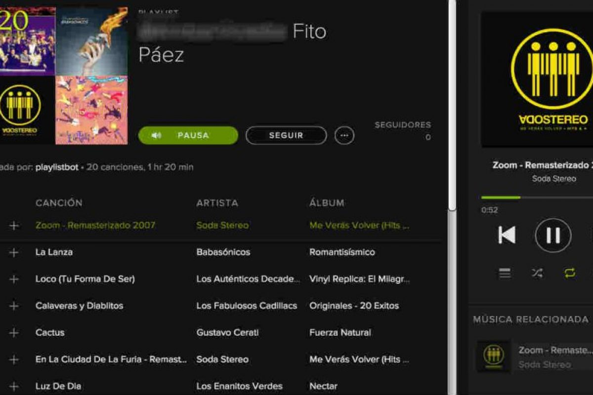 Spotify ya cuenta con un algoritmo para encontrar música de su agrado. Foto:Spotify. Imagen Por: