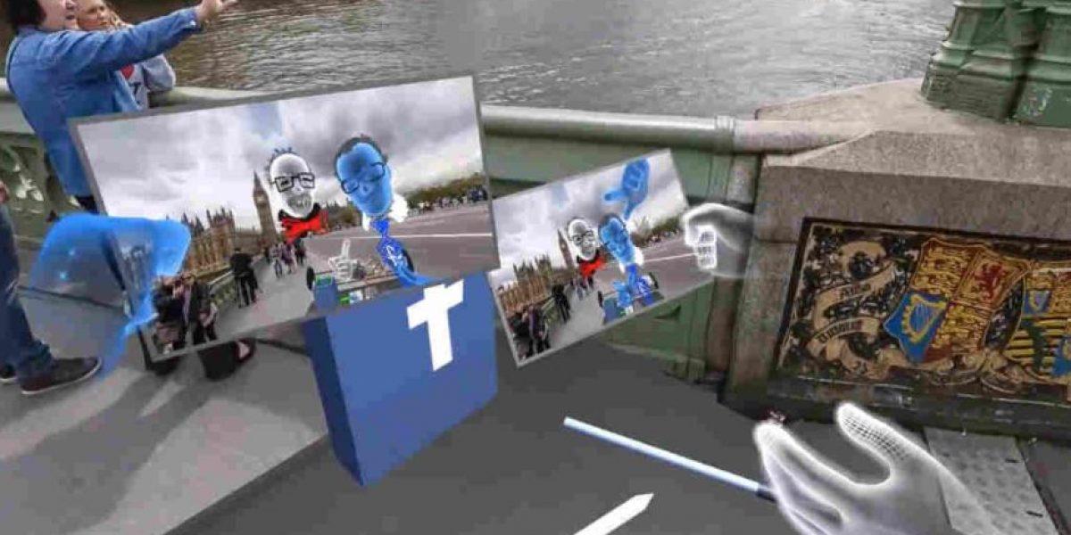 Facebook: la realidad virtual permitirá viajar y tomarse selfies