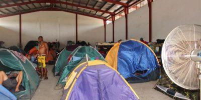 Más de mil emigrantes entran por la fuerza a Costa Rica desde Panamá