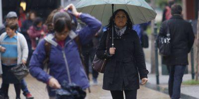 Declaran alerta amarilla en la Región Metropolitana por sistema frontal