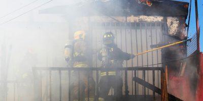 Incendio destruye la vivienda de jugador de Universidad de Chile