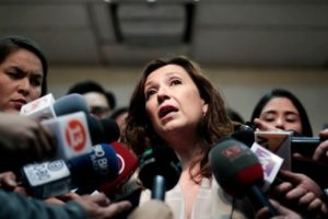 Marcela Labraña, directora nacional Sename Foto:Agencia Uno. Imagen Por: