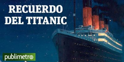 Infografía: recuerdo del Titanic