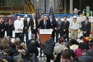 Seis meses antes de Trump anunció su carrera presidencial con Lewandowski como jefe de campaña. Foto:Getty Images. Imagen Por: