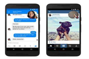 Las videollamadas ya llevan tiempo funcionando en Messenger. Foto:Messenger. Imagen Por: