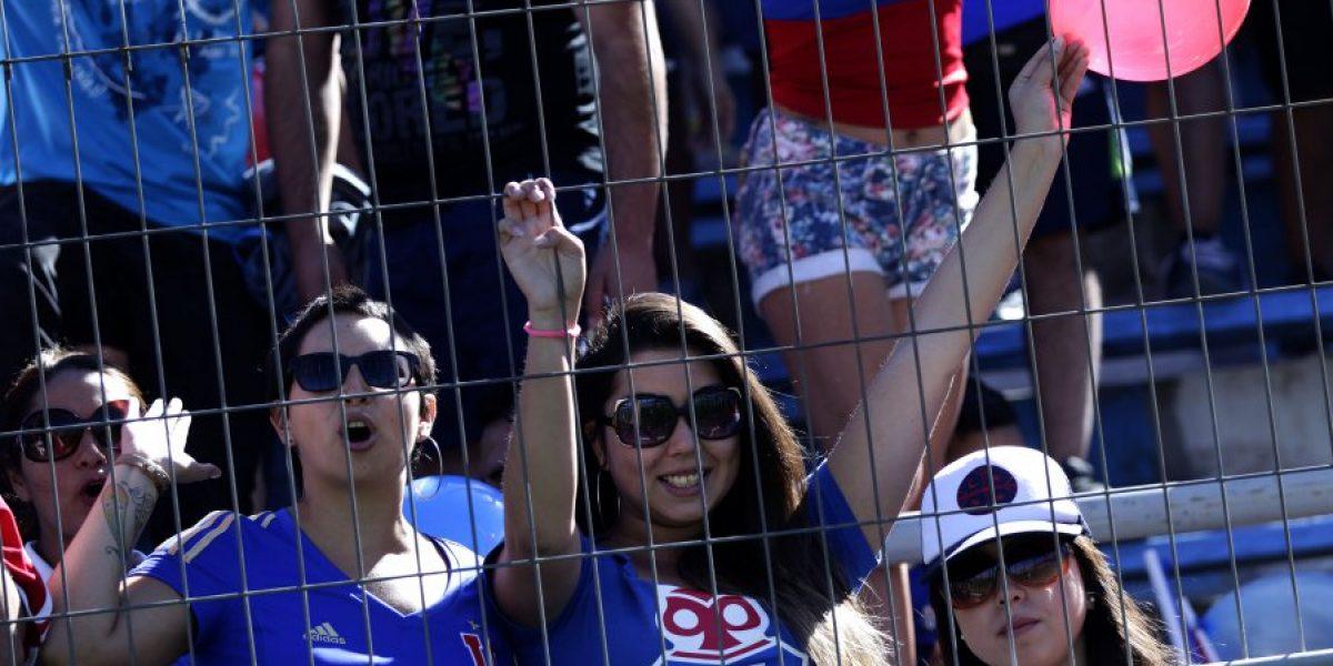Hinchada incondicional: Fanáticos de la U agotaron en un minuto las entradas para el clásico