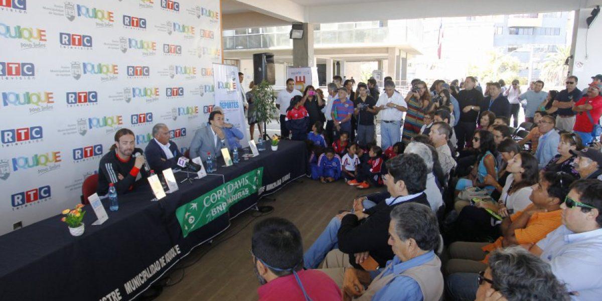 Federación de Tenis oficializó a Iquique como sede de la serie ante Colombia