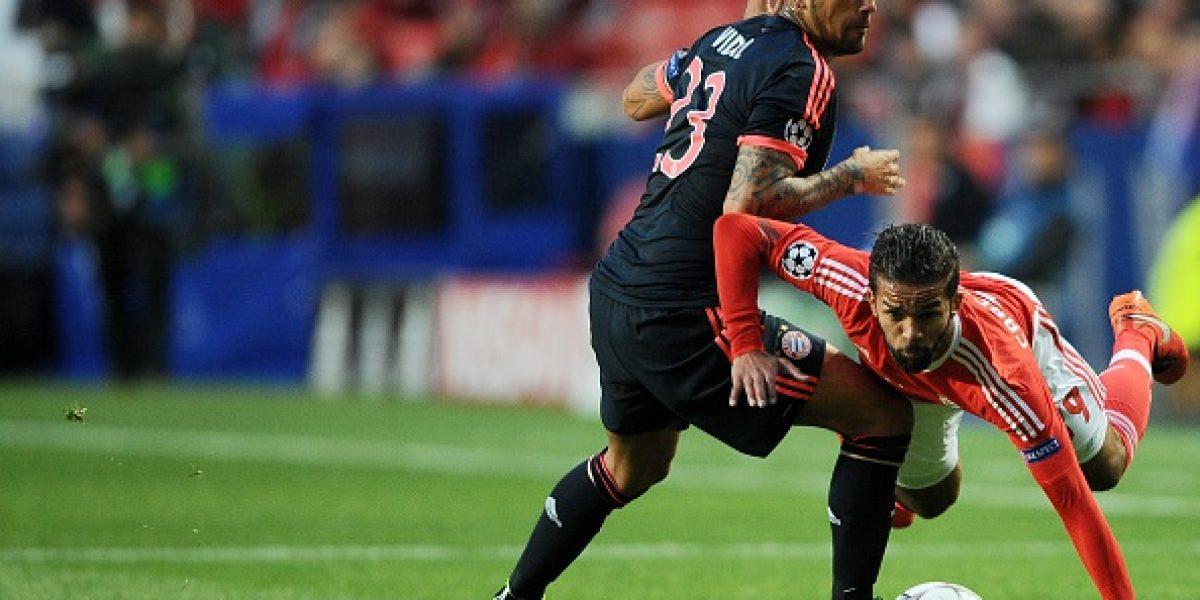 Arturo Vidal es nominado al jugador más destacado y al mejor gol en Champions