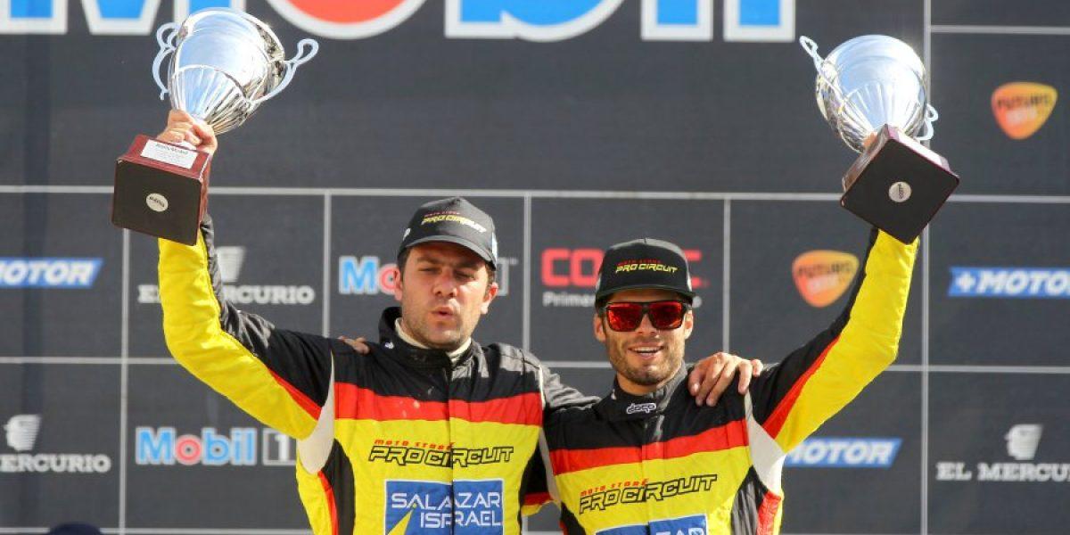 La familia Israel sube la apuesta en el RallyMobil de Chiloé