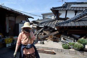 Así amaneció Japón después de un sismo magnitud 6.9 registrado ayer Foto:AFP. Imagen Por: