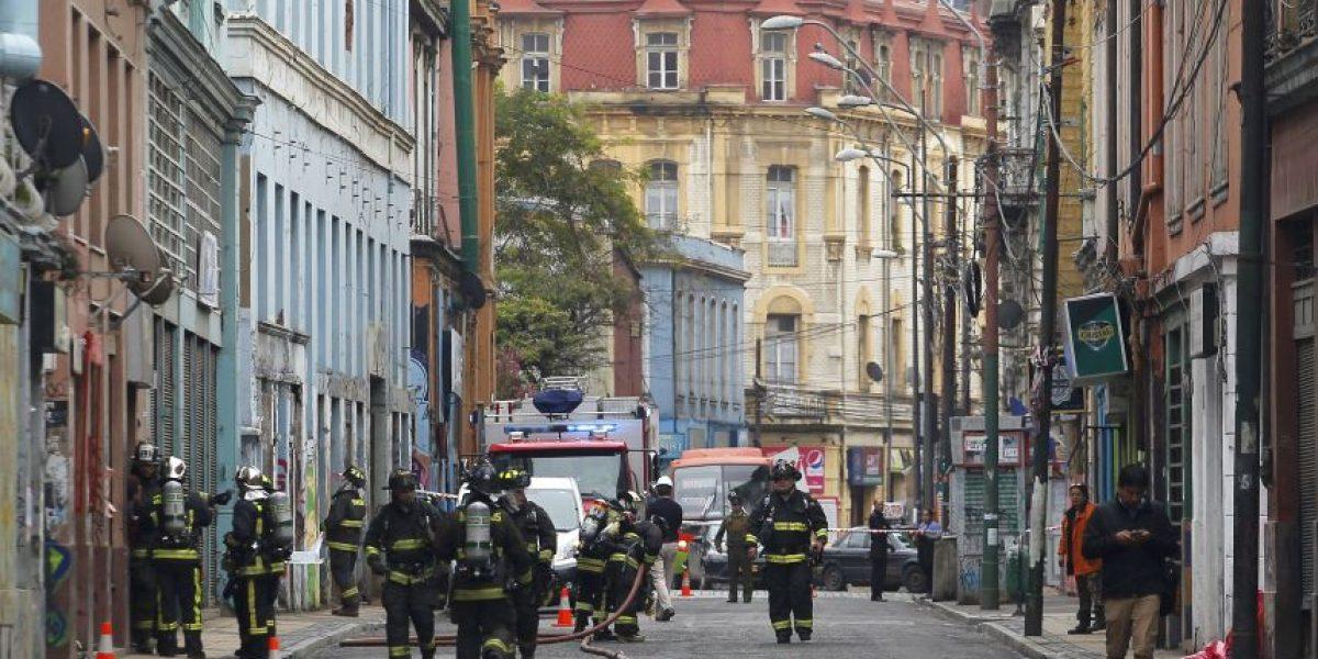 Valparaíso en alerta: fuga de gas obligó a la evacuación del barrio puerto