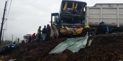 Choque entre cuatro vehículos provoca múltiples lesionados en la Región del Maule