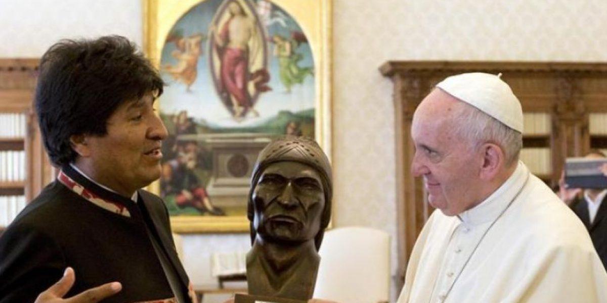 Gobierno por encuentro de Evo Morales y el Papa: