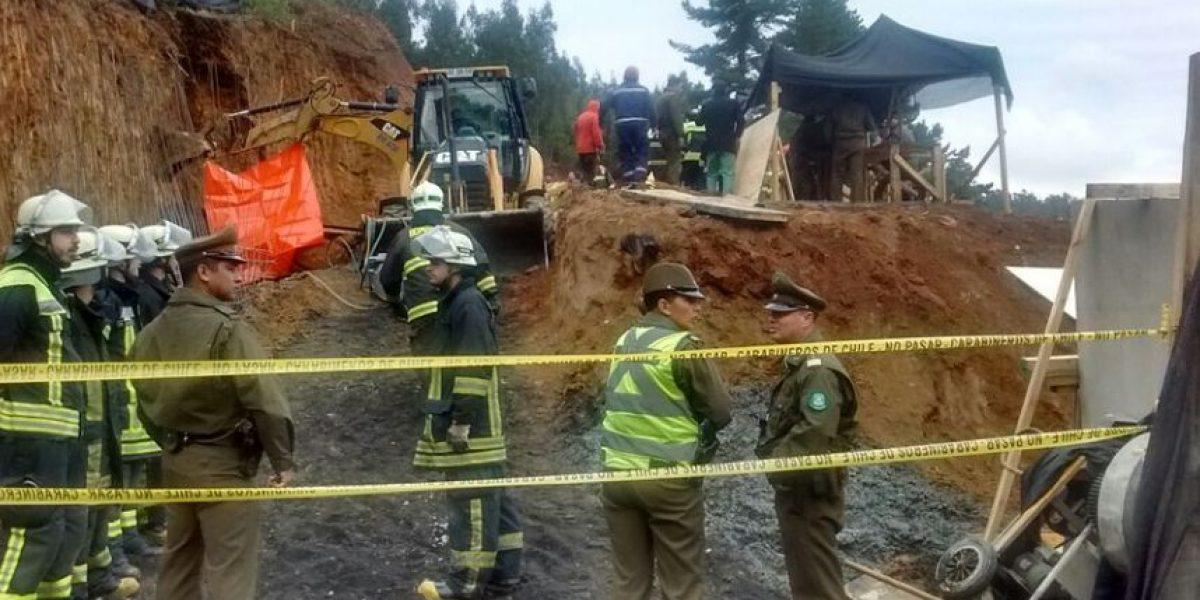 Chiguayante: un muerto y un herido deja derrumbe en ladera de cerro