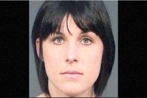 Nadia Cristina Díaz fue arrestada por supuestamente tener relaciones sexuales con un estudiante de 14 años Foto:Fresno County Jail. Imagen Por: