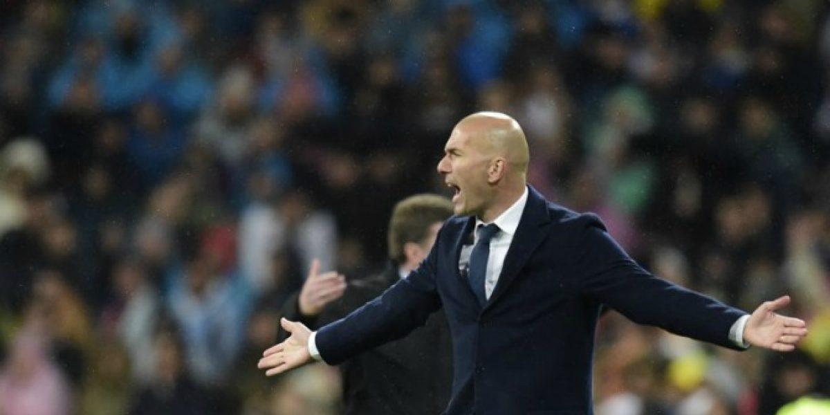 Zidane adelantó una semifinal